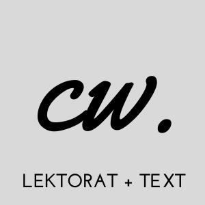 Lektorat | Text | Redaktion | Claudia Weingartner